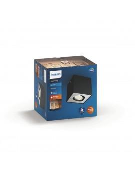 BOX plafón negro 1x4.5W...