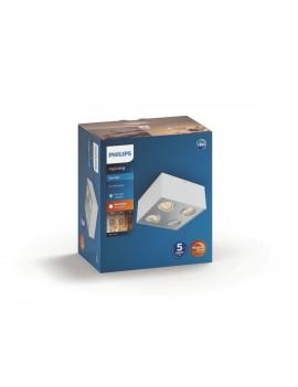 BOX plafón blanco 4x4.5W...