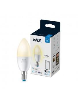 Wiz Bombilla Wifi y Bluetooth LED Regulable vela 40w E14