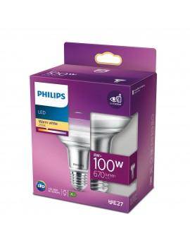 LED CLA 100W R80 E27 WW 36D...
