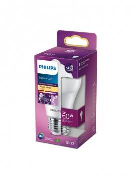 LED Sensor 60W A60 E27 WW...
