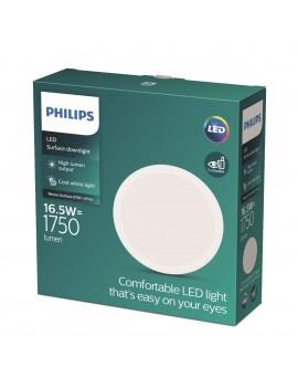 Foco empotrado blanco Philips MESON SURFACE D150 17W 4000K, luz neutra EAN 8719514251007