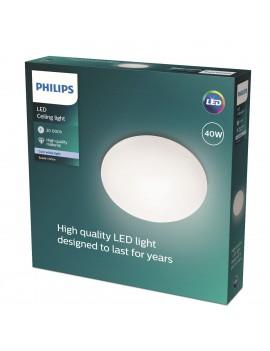 Plafón blanco Philips Suede...