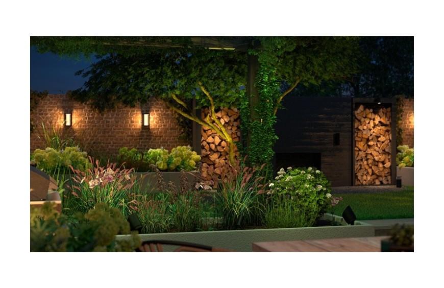 Guía de iluminación de bajo voltaje para exterior
