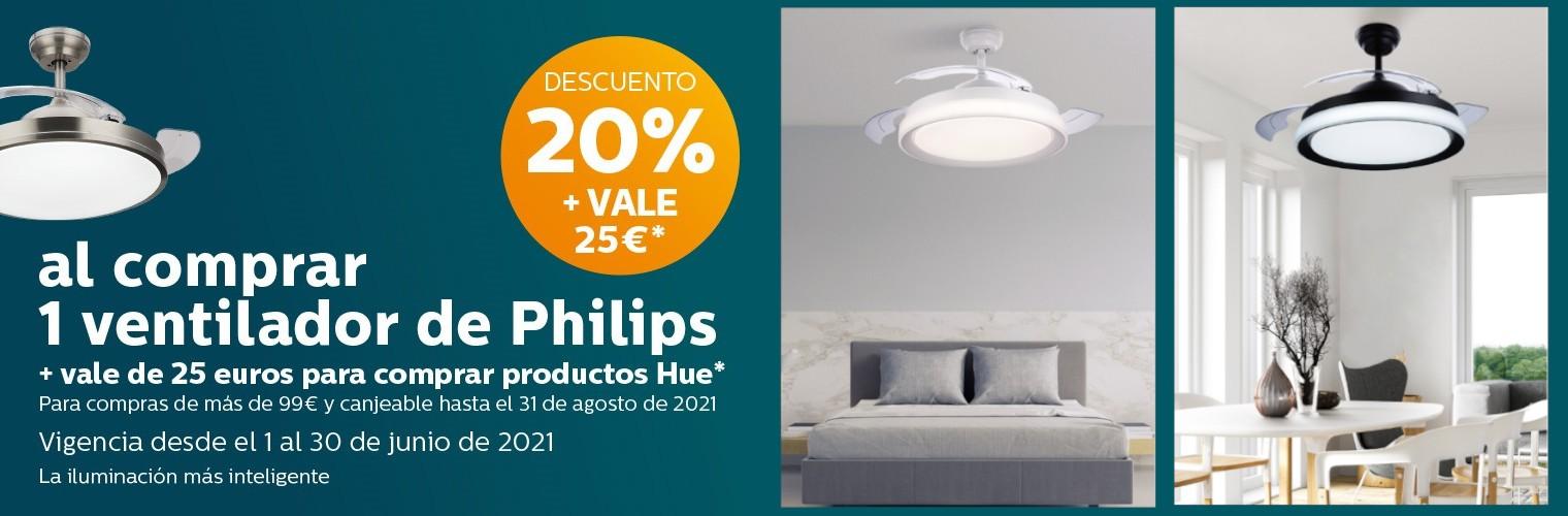 Promoción Ventiladores Philips